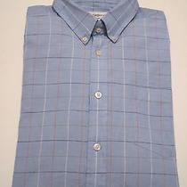 Yves Saint Laurent Mens 16.5 34/35 Button-Up Dress Shirt - Slim-Fit Large L Ysl Photo