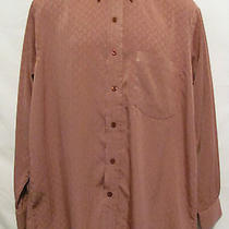 Yves Saint Laurent Mens Sz 40 Cm Long Sleeve Shirt Dress or Casual Button Front Photo