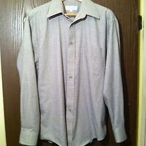 Yves Saint Laurent Multi-Color Striped Cotton Spread Classic Shirt 16 34-35 L 00 Photo