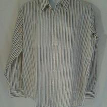 Yves Saint Laurent Multicolor Stripes Long Sleeve Shirt Men's 17 34-35 Photo