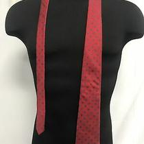 Yves Saint Laurent Neckwear Silk Red Mens Neck Tie Photo
