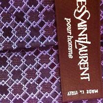 Yves Saint Laurent Pour Homme Luxury Chic Tie (Made in Italy) Nw139 Photo