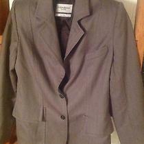 Yves Saint Laurent Rive Gauche Vintage Sport Coat Grey Bust 38