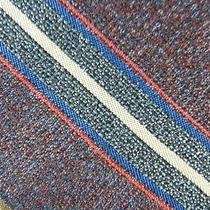 Yves Saint Laurent Sienna Blue Red Khaki Beautiful Stripe Silk Necktie Tie Mm25 Photo