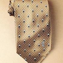 Yves Saint Laurent Silk Necktie Photo