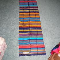 Yves Saint Laurent Silk Scarf  Vibrant Stripes Photo