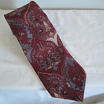 Yves Saint Laurent Silk Tie Vintage Photo