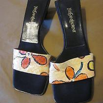 Yves Saint Laurent Summer Sandals Multi Color (Size 7) Photo