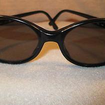 Yves Saint Laurent Sunglasses 135 Black Cat Eyes 5064 Y505 Made in Italy Euc  Photo