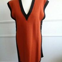 Yves Saint Laurent Tricot Pure Virgin Wool Body Warmer Vest Gilet Size Uk 10 Photo