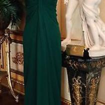 Yves Saint Laurent Vintage Green Dress Photo