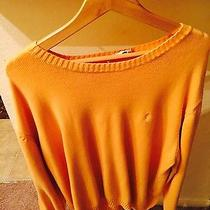 Yves Saint Laurent Vintage Orange Mens Sweater Photo