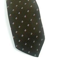 Yves Saint Laurent Vintage Tie Necktie Brown 1970s  Photo
