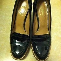 Yves Saint Laurent Woman Wedge Shoes Size 7.5 Photo