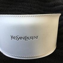 Yves Saint Laurent Ysl Eyeglasses Sunglasses Softshell White Case Only Photo