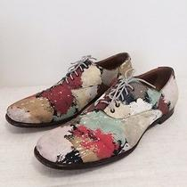 Yves Saint Laurent - Ysl - Mens Painted Canvas Shoes - 45 - Italy Photo