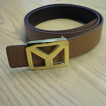 Yves Saint Laurent Ysl Mens Belt  Photo