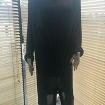 Yves St Laurent Designer Black Dress Size 40 Photo
