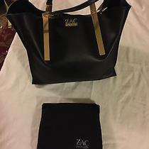 Zac Posen Black Danes Shopper Handbag in Excellent Condition Photo