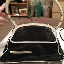 Zac Posen Black & White Original Shoulder Bag Photo
