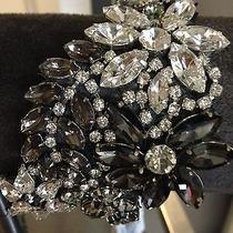Zac Posen Bracelet Earrings Crystal Set Photo