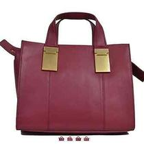 Zac Posen Danes Small Satchel in Quartz Red Nwt Photo