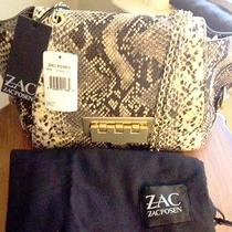 Zac Posen Exotic Python Embossed Leather Crossbody Bag-Nwt-Msrp 450 Photo