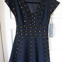 Zac Posen for Target Blue Snap Tape Dress - Size M Photo