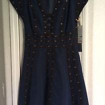 Zac Posen for Target Blue Snap Tape Dress - Size M Nwt  Photo