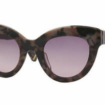 Zac Posen Jacqueline Bh Sunglasses Women's Blush Tortoise/brown Lenses 49mm Photo