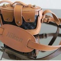 Zac Posen Nikon Crossbody or Camera Case Likenew Excluslimited Edition Italy Photo