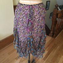 Zac Posen Silk Chiffon Skirt Size 6 Photo