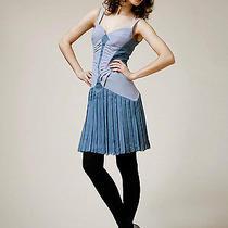 Zac Posen Vector Dress Lavendar/graphite Dress Size 6/42it Photo