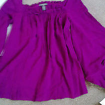 Zac Posen Violet Blouse Size 6 Very Great Condition Photo