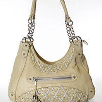 Zac Posen Yellow Leather Woven Detail Hobo Bag Shoulder Bag Handbag Photo