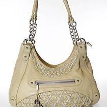 Zac Posen Yellow Leather Woven Detail Hobo Bag Shoulder Bag Handbag Photo