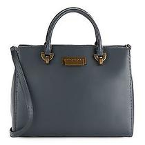 Zac Zac Posen Barrel Leather Satchel Bag Photo