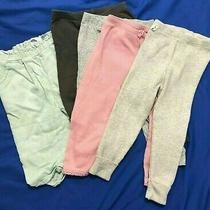 Zara/baby Gap/carter's/old Navy Lot 5 Multicolor Pants Ribbed Knit/linen 18-24 Photo