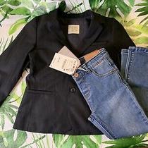 Zara Baby Unisex Jean and Blazer Size 3-4. Nwt Photo