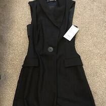 Zara Basic Blazer Playsuit Size Xs Photo