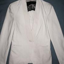 Zara Basic Off White Blazer Photo