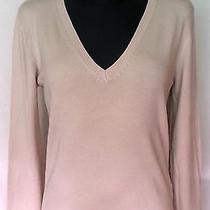 Zara Beige Long Sleeve Women's Blouse Sizel Photo