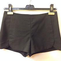 Zara Black Dolphin Trousers Shorts Xs Photo