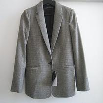 Zara Black/white Blazer Jacket Size M Photo
