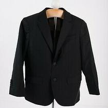 Zara Boys Suit Jacket Blazer Sport Coat  Sz 6 Yrs 116 Cm Black 3445/660 Nwt Photo