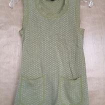 Zara Cable Knit Blue Sweater Sz S. Photo