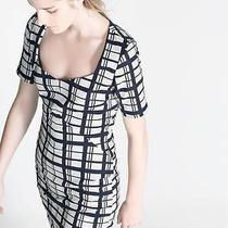 Zara Checked Shift Dress Size M Photo