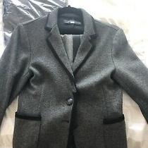 Zara Dress Suit Blazer Size Xs Womens Long Sleeve Jacketblack/gray Photo