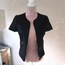 Zara Faux Leather Jacket Size Xs Photo