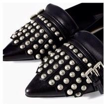 Zara Flats With Silver Studs Photo